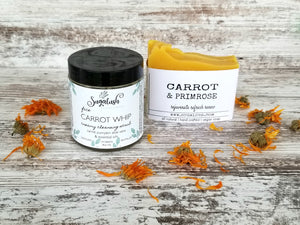 Carrot Whip Creamy Cleansing Scrub
