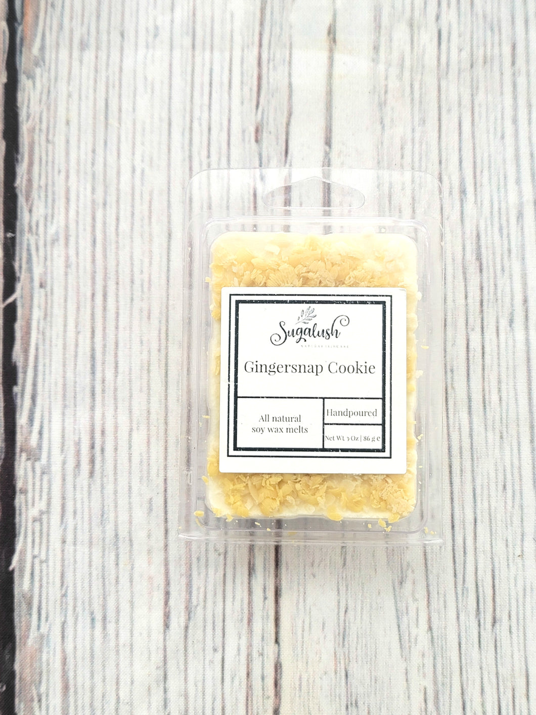 Gingersnap Cookie Soy Wax Melts