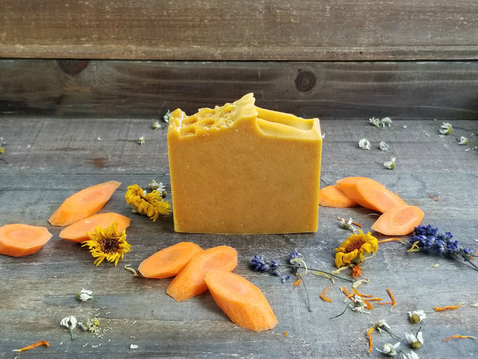 Carrot & Turmeric Soap