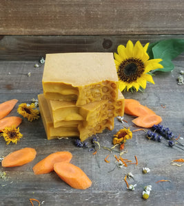 Carrot + Turmeric Soap