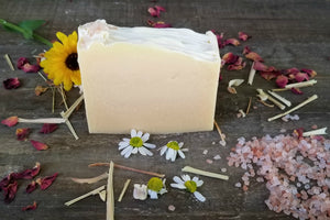 Lemongrass + Ginger Botanical Soap