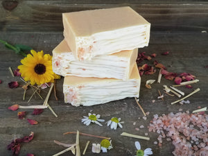 Lemongrass + Ginger Coconut Milk Soap