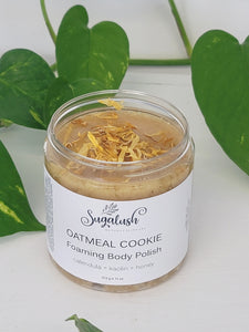Oatmeal Cookie Foaming Body Polish