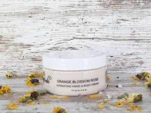 Orange Blossom Rose Body Cream