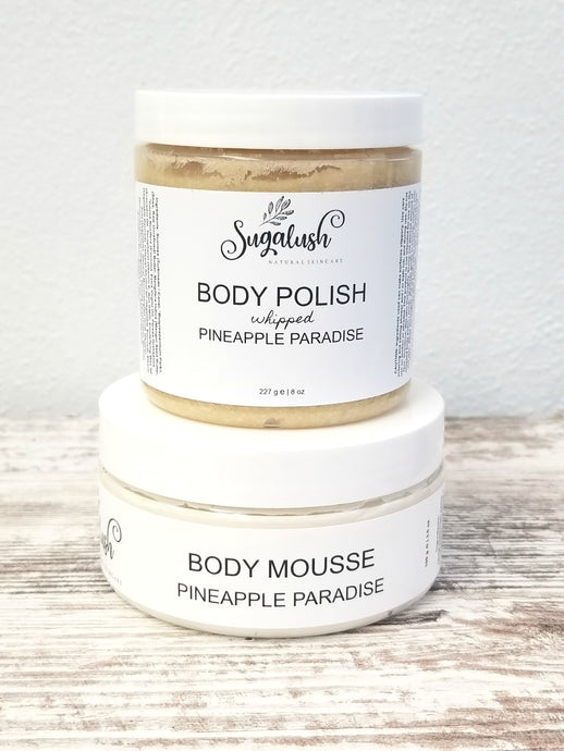 Pineapple Paradise Body Care Set