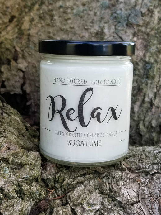 Relax Soy Candle