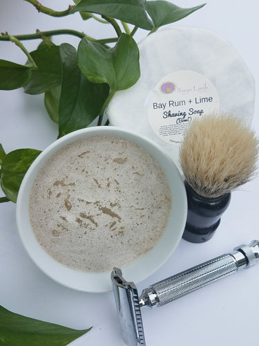 Bay Rum + Lime Shaving Soap Set