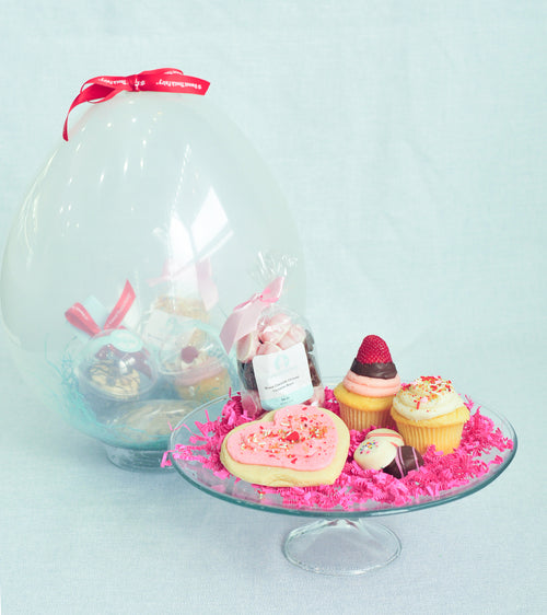 Valentine's Sweet Balloon Gift Package