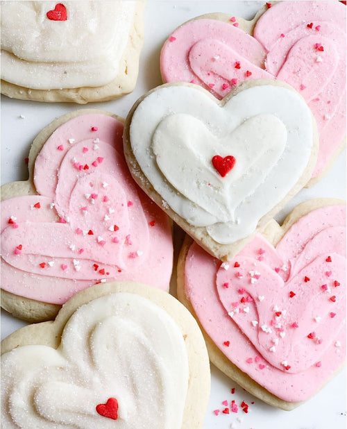 Heart Shaped Sugar Cookie
