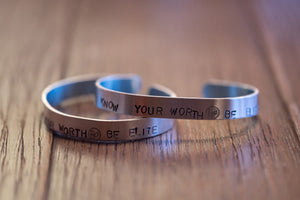 Know Your Worth - Be Elite Bracelet