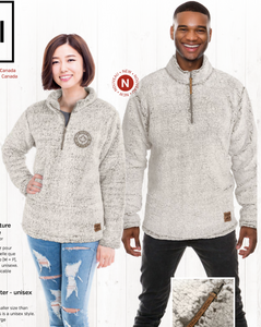 Elite Three 1/4 Zip Sherpa Sweatshirt