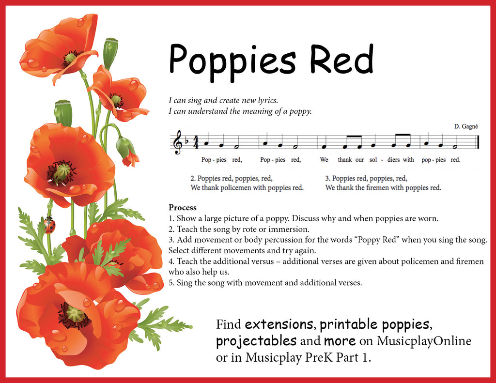 photograph relating to Were Moving Up to Kindergarten Printable Lyrics titled Musicplay Themes and Variances