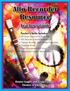 Alto Recorder Resource Teacher's Guide | Themes and Variations