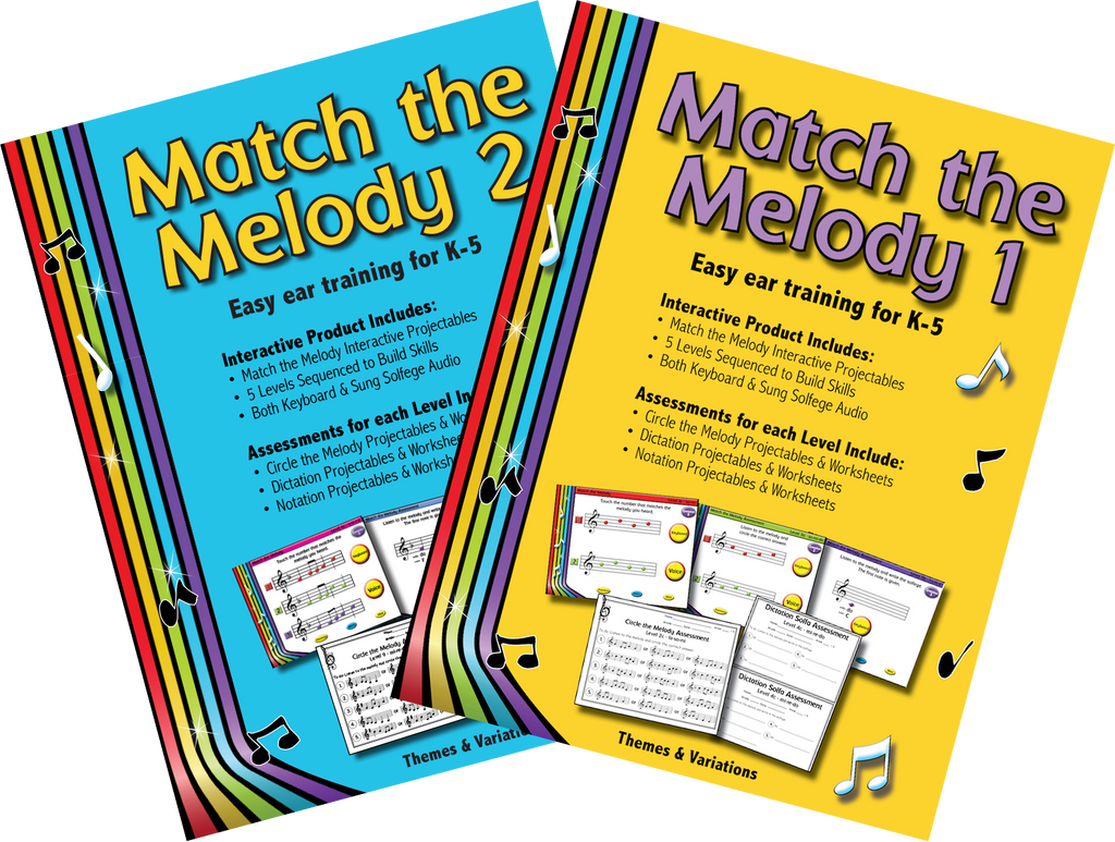 Match the Melody 1 and 2 | Themes and Variations