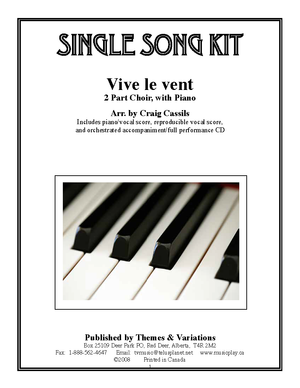 Vive Le Vent Single Song Kit Download Themes And Variations