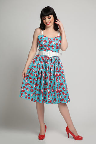 Collectif Jade Strawberry 1950 Dress