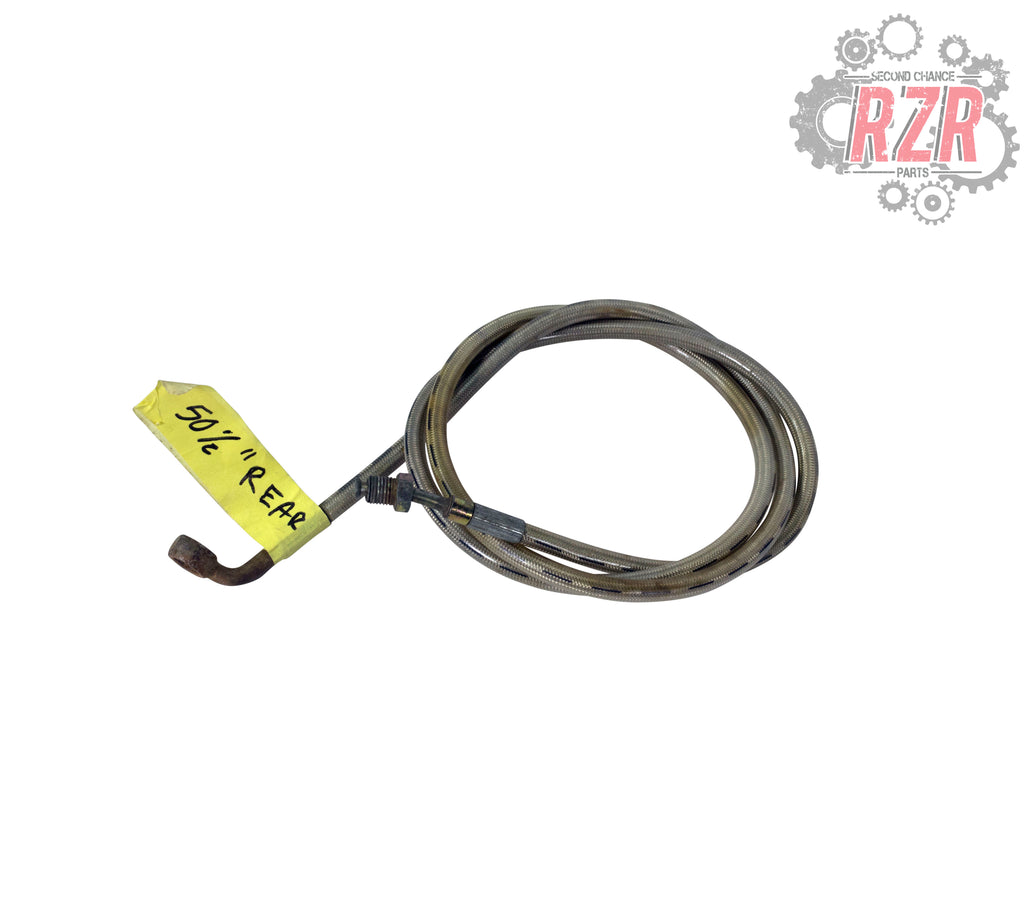 "RZR 570 800 900 1000 50 1/2"" Rear Brake Line Polaris OEM - #1462"