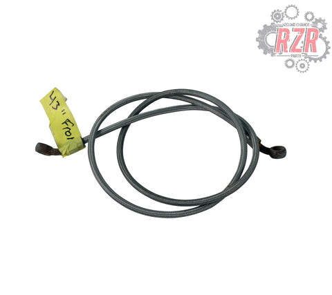 "Image of RZR 570 800 900 1000 43"" Front Brake Line Polaris OEM - #1468"