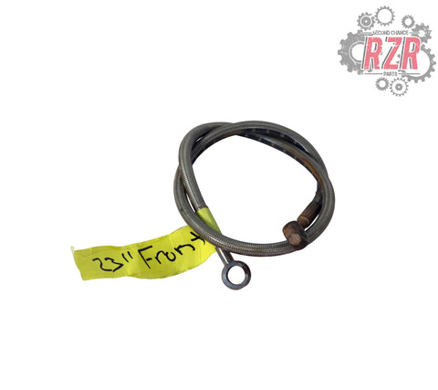 "Image of RZR 570 800 900 1000 23"" Front Brake Line Polaris OEM - #1459"