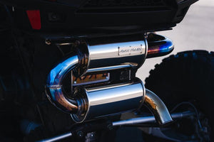RZR XP Turbo Tamed Trail Exhaust by Force Turbo