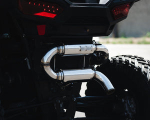RZR XP Turbo UnTamed Exhaust by Force Turbo 2016 +