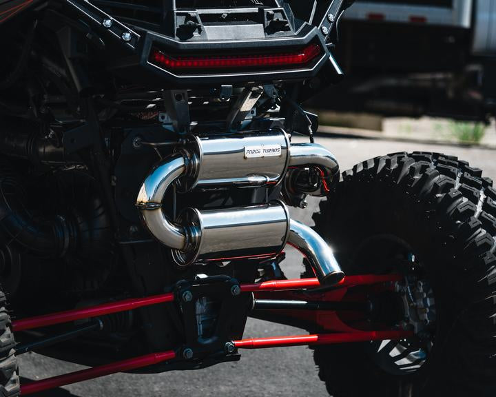 RZR XP 1000 Tamed Trail Exhaust by Force Turbo 2018 - 2021