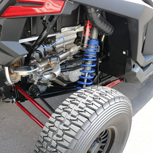 Polaris RZR XP Turbo Shocker Electric Side Dump Exhaust