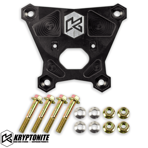 Image of KRYPTONITE POLARIS RZR DEATH GRIP REAR RADIUS PLATE 2018-2021 TURBO S
