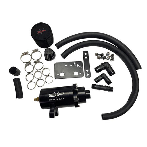 Image of Polaris RZR XP Turbo/Turbo S Air/Oil Separator Catch Can Kit