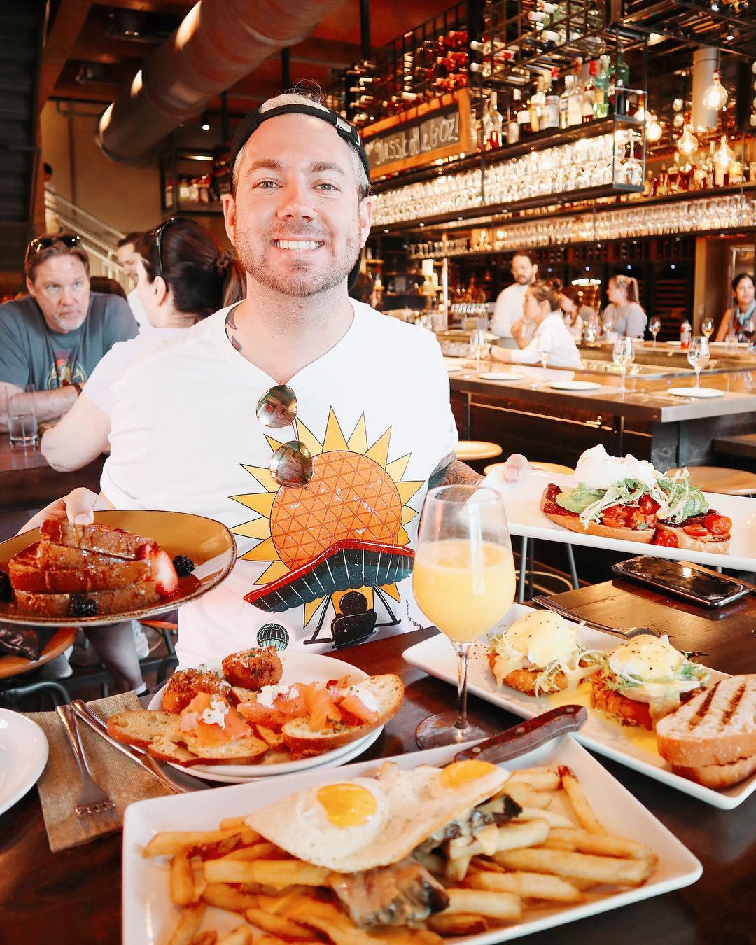 Brunch at Wine Bar George in Disney Springs