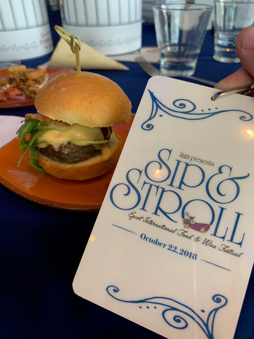 D23 Sip & Stroll Event at Epcot