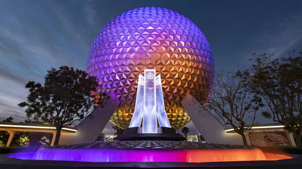 First Look at New EPCOT Entrance Fountain Revealed