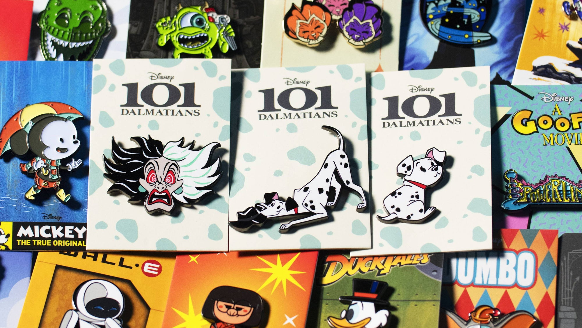 Check Out This All-New 101 Dalmation Inspired Pin Collection From Mondo!