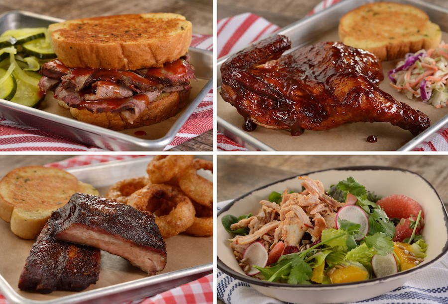Here's The FULL Menu For Epcot's Regal Eagle Smokehouse: Craft Drafts and Barbecue