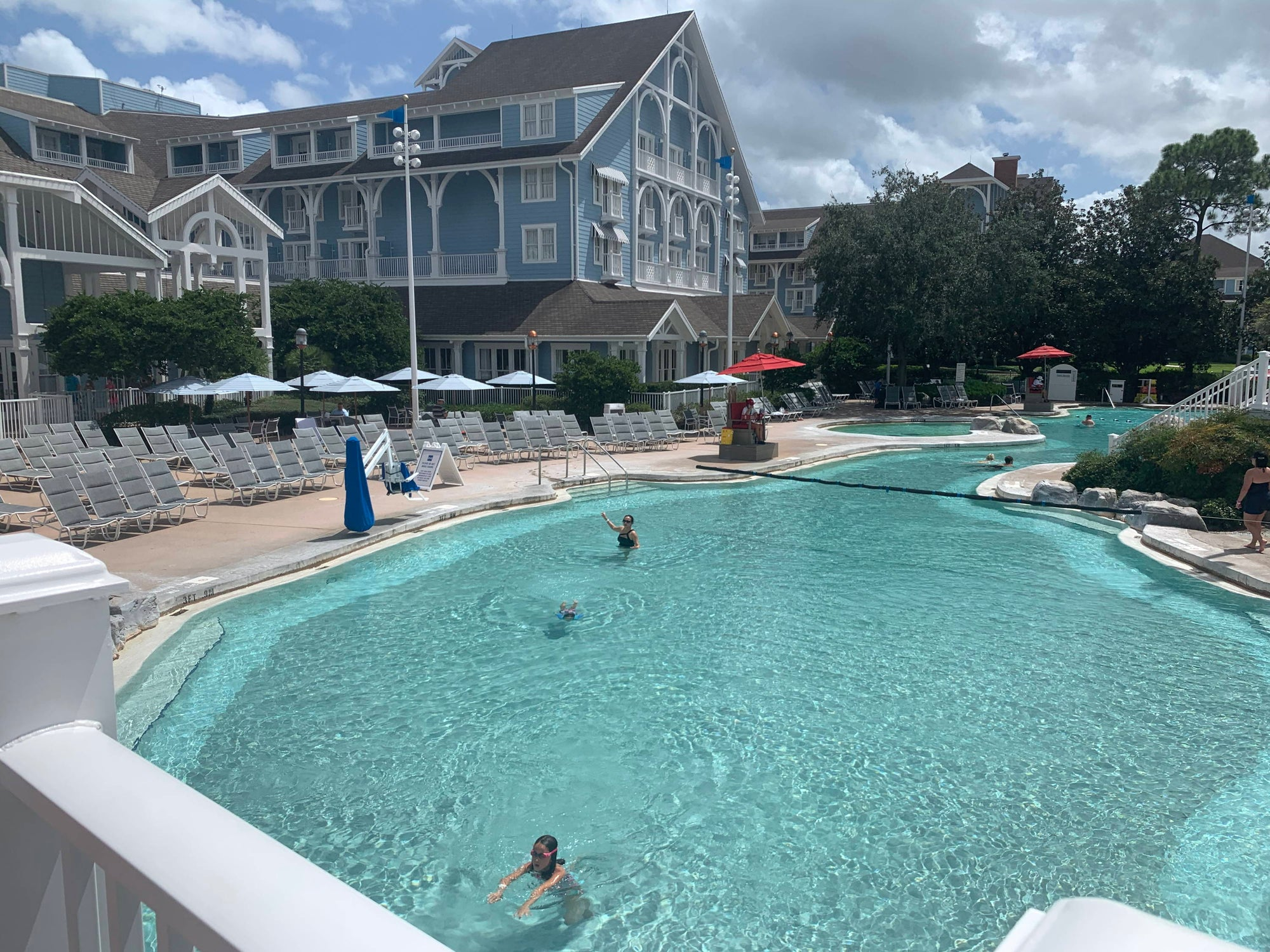 Stormalong Bay Pool Reopens at Disney's Yacht Club Resort