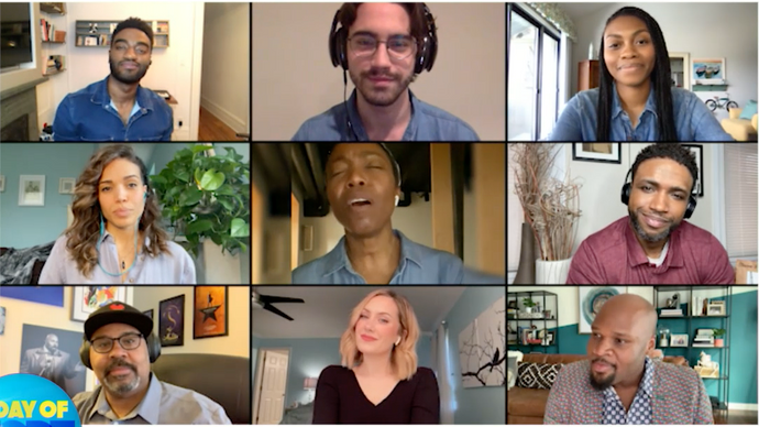 "Disney on Broadway Stars Performed ""Go the Distance"" via Video Call and Now We're Crying"