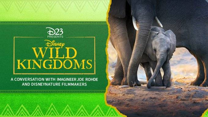 "Join Joe Rohde Tonight at 7 PM for ""Disney Wild Kingdoms: A Conversation With Imagineer Joe Rohde and Disneynature Filmmakers"" Presented by D23"