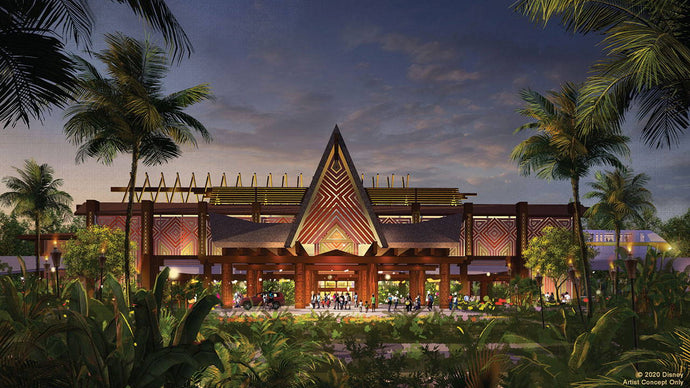 Disney Shares First Look at Polynesian Village Resort Enhancements Coming Soon