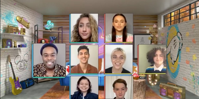 Disney Channel Stars Get Together Virtually to Celebrate Rosh Hashanah