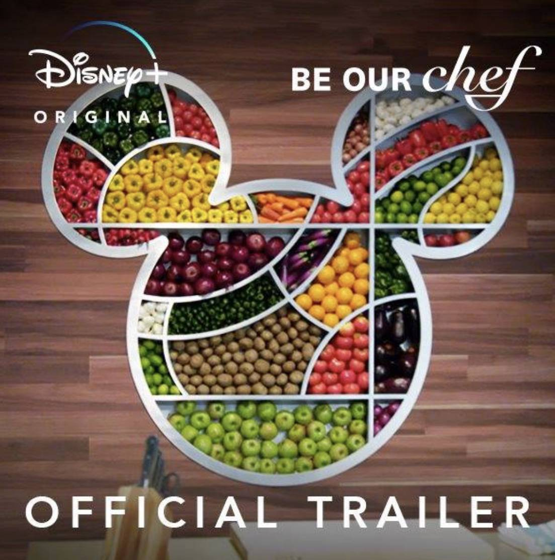 "Check out the New Trailer For the Disney+ Exclusive Cooking Show ""Be Our Chef"""