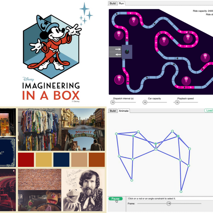 You Can Design Your Own Theme Park With Disney and Khan Academy's 'Imagineering in a Box'