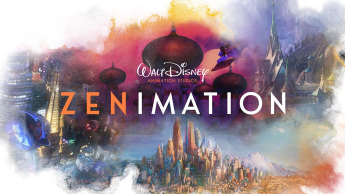 Need a Moment of Zen? Check out Disney Plus's All-New 'Zenimation' Series