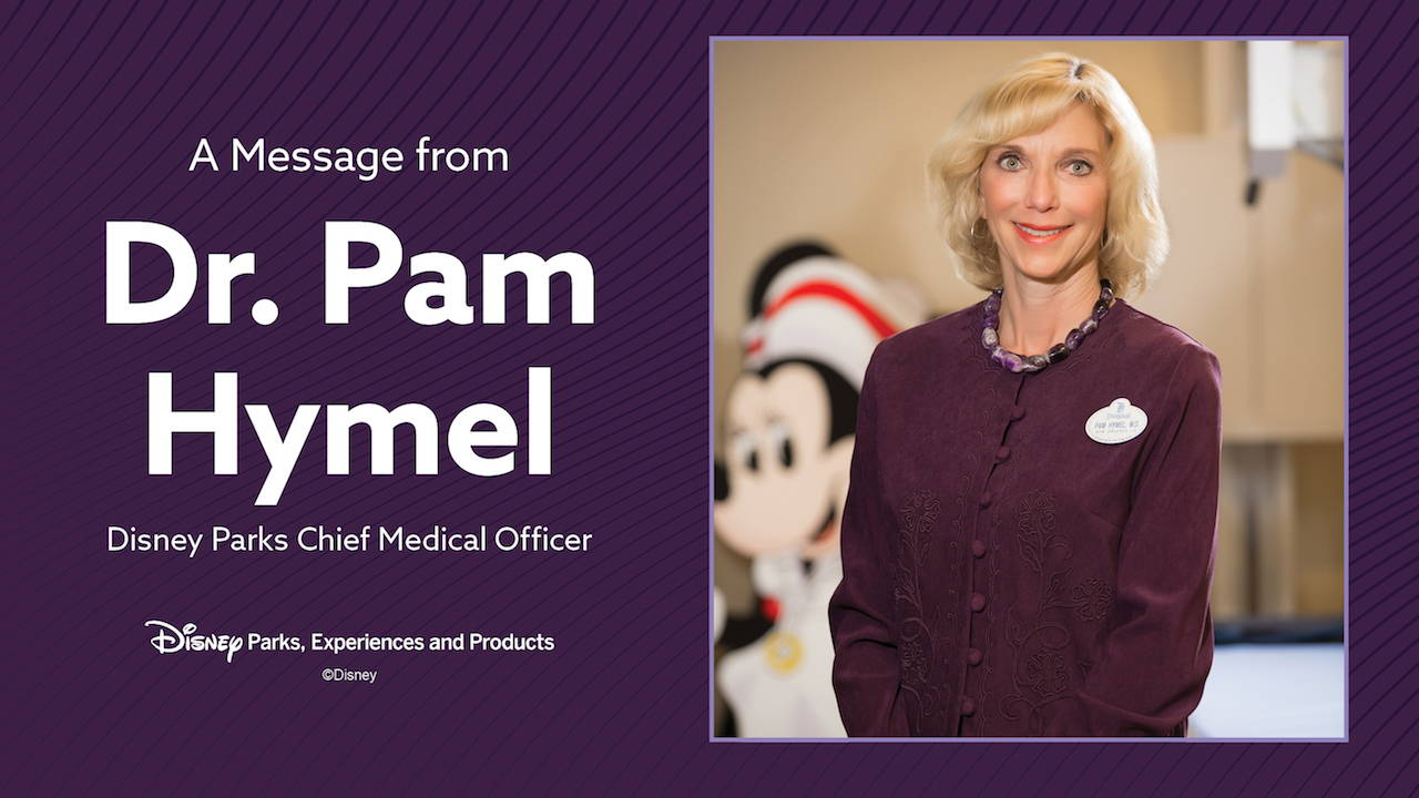 Disney Parks Chief Medical Officer Releases Plans and Considerations as Disney Parks Prepare to Reopen
