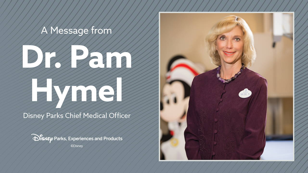 Disney Shares Updated Reopening Plans in a Message From Dr. Pamela Hymel
