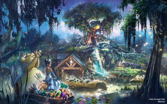 BREAKING: Splash Mountain to be Rethemed to 'Princess and the Frog' at Disney World and Disneyland