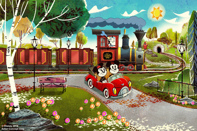Cast Members! Here's Your Chance to Be the First to Ride Mickey and Minnie's Runaway Railway!
