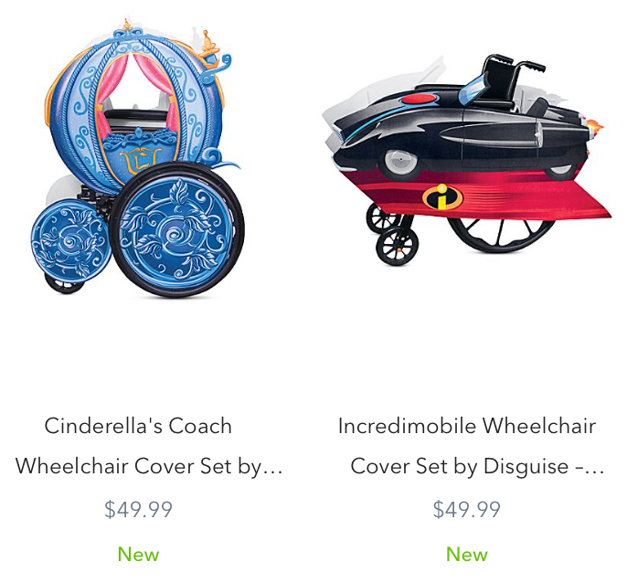 ShopDisney Adds New Wheelchair Cover Sets as Part of Their 2020 Halloween Collection