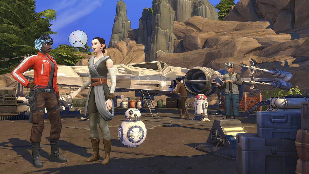 Star Wars: Galaxy's Edge is Coming To *Throws Dart at Dart Board* THE SIMS 4?!
