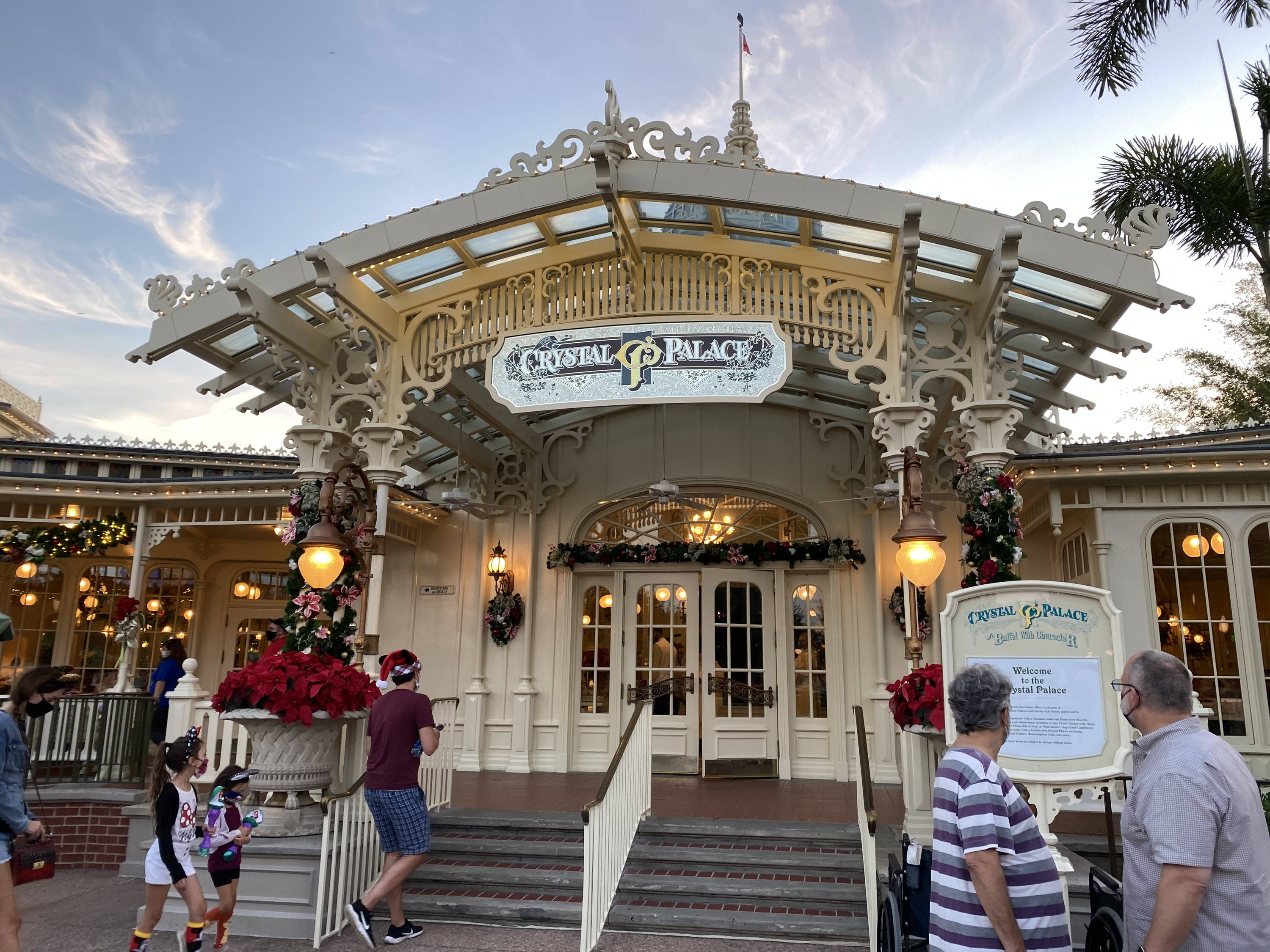 Crystal Palace Reopens at Magic Kingdom with New Menu, No Characters