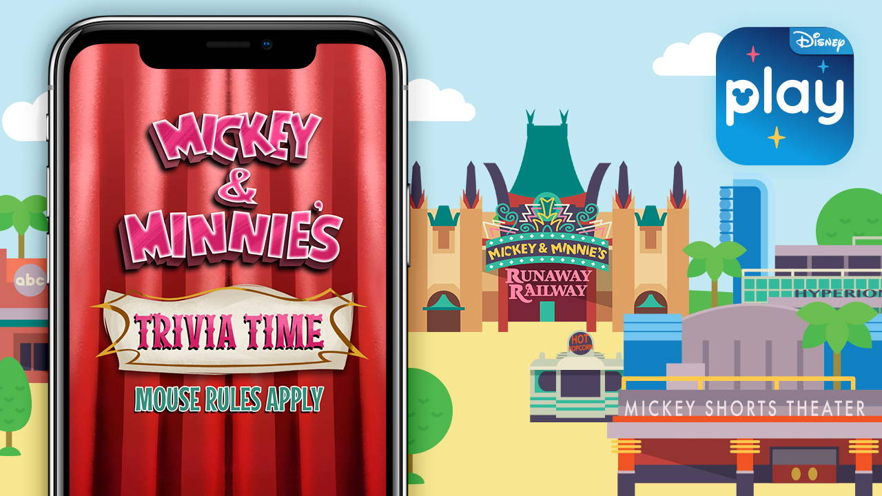Mickey & Minnie's Trivia Time Coming Soon to the Disney Park's Play App
